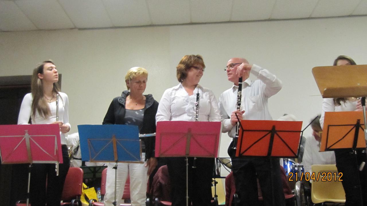 Quelques musiciens de Crotenay