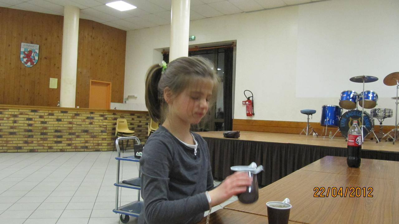 Agathe, notre serveuse de café